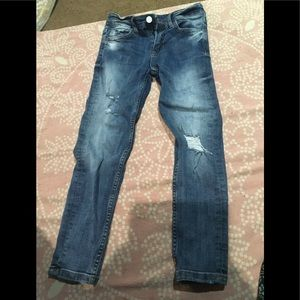 Boys distressed jeans by next size 8